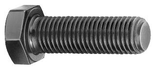 ISO 4017 Болт с шестигранной головкой с резьбой до головки, класс А (Взаимозаменяемы с DIN 933)