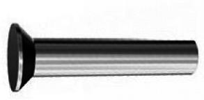 DIN 661 Заклепка с потайной головкой