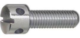 DIN 404 Винт с накрест расположенными отверстиями в головке