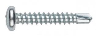 ISO 15481 Саморез с полукруглой головкой наконечник сверло