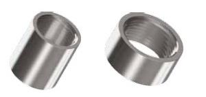DIN 2986 Муфта и полумуфта стальная резьбовая для соединения труб