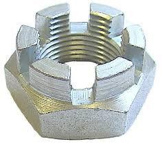 DIN 979 Гайка шестигранная корончатая низкая