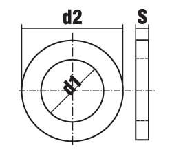 DIN 7989 A B Шайба для стальных конструкций