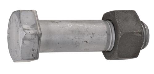 DIN 7990 / MU Болт с шестигранной головкой для стальных конструкций, с гайкой