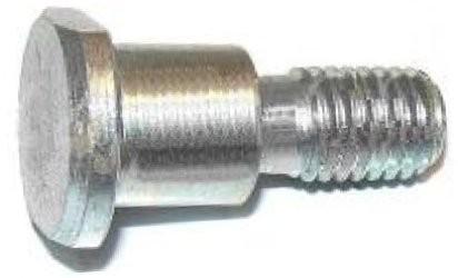 DIN 1445 Болт для отверстий из-под развертки, с плоской головкой под паз и резьбовой цапфой