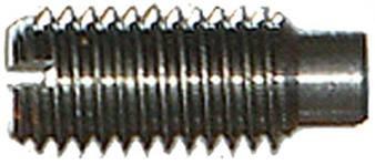 DIN 417 Винт установочный с прямым шлицем
