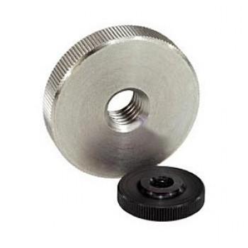 DIN 467 Гайка рифленая с накаткой низкая круглая