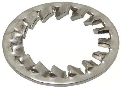 DIN 6798 J Шайба стопорная зубчатая