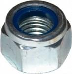 DIN EN ISO 7040 Шестигранная гайка с зажимным элементом с пластиковым кольцом DIN 6924