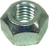 DIN 6925 Шестигранная гайка с зажимным элементом, цельнометаллическая