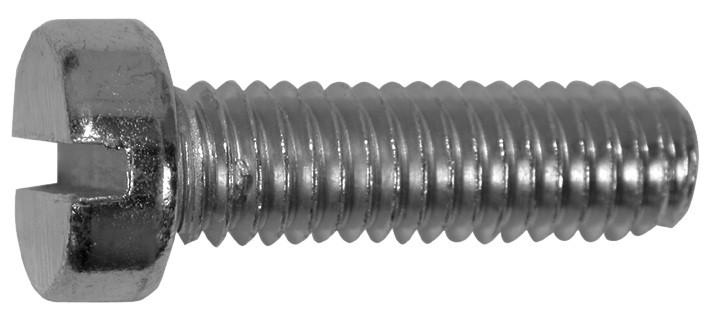 DIN 84 Винт с цилиндрической головкой и прямым шлицем