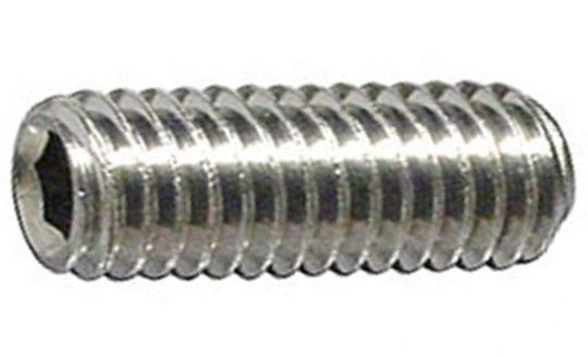 DIN 916 Винт установочный с внутренним шестигранником