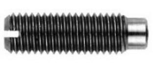 DIN 926 Винт установочный с прямым шлицем и цилиндрическим концом