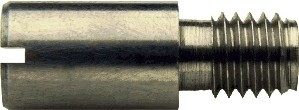 DIN 927 Винт с прямым шлицем и резьбовой цапфой