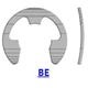 Кольцо стопорное BE эксцентрическое радиальное наружное (дюймовое)