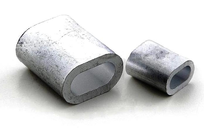 DIN 3093 Зажим для троса алюминиевый