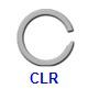 Кольцо стопорное CLR спиральное осевое наружное (дюймовое)