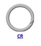 Кольцо стопорное CR спиральное осевое наружное (дюймовое)