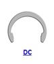 DIN 5103 Кольцо стопорное DC эксцентрическое радиальное наружное