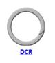 Кольцо стопорное DCR спиральное осевое наружное