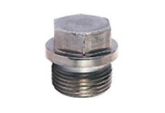 DIN 910 Пробка со сжимом шестигранной головкой и (цилиндрической/цилиндрической трубной) резьбой