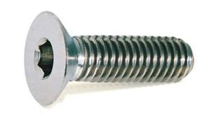UNI 5933 Винт с потайной головкой под шестигранник (~DIN 7991)