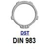 DIN 983 (DST) Кольцо стопорное эксцентрическое осевое наружное