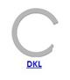 Кольцо стопорное DKL спиральное осевое внутреннее