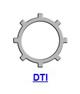 Кольцо стопорное DTI самостопорящееся без канавки осевое внутреннее