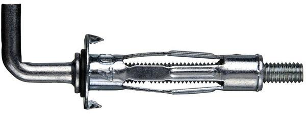 Дюбель крюк металлический