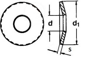 ГОСТ 3057-90 пружина тарельчатая
