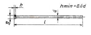 ГОСТ 4035-63 Гвоздь формовочный круглый