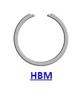 Кольцо стопорное HBM концентрическое осевое внутреннее плоское