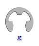 Кольцо стопорное JE (JIS B 2805) эксцентрическое радиальное наружное