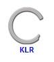 Кольцо стопорное KLR спиральное осевое внутреннее (дюймовое)