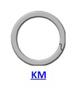 Кольцо стопорное KM спиральное осевое внутреннее (дюймовое)