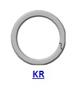 Кольцо стопорное KR спиральное осевое внутреннее (дюймовое)