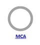 Кольцо стопорное MCA спиральное осевое наружное