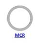 Кольцо стопорное MCR спиральное осевое наружное