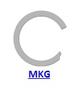 Кольцо стопорное MKG спиральное осевое внутреннее