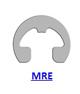 Кольцо стопорное MRE эксцентрическое радиальное наружное