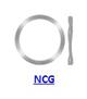 Кольцо стопорное NCG пружинное осевое наружное (дюймовое)