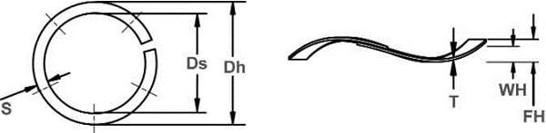 Волновая пружина NST