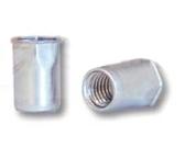 Заклепка-гайка BRALO шестигранная на 1/2 длины, с уменьшенным потайным бортиком