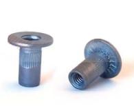 Заклепка-гайка BRALO с широким цилиндрическим бортиком, для пластика