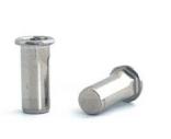Заклепка-гайка BRALO глухая шестигранная на 1/2 длины, с цилиндрическим бортиком