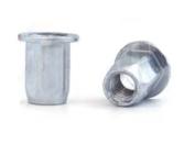 Заклепка-гайка BRALO шестигранная с цилиндрическим бортиком