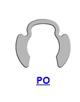 PO/POL Кольцо стопорное эксцентрическое радиальное наружное (дюймовое)