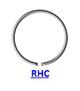 Кольцо стопорное RHC/RHO концентрическое осевое наружное (дюймовое)