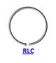 Кольцо стопорное RLC/RLO концентрическое осевое наружное (дюймовое)
